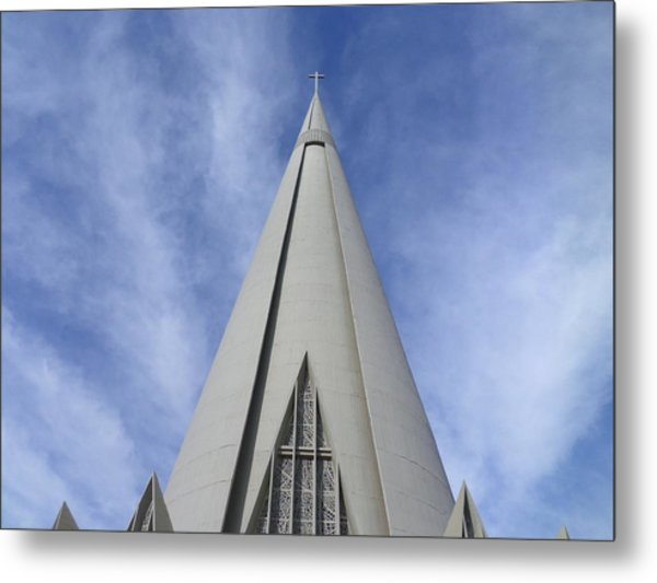 Cathedral Minor Basilica Our Lady Of Glory Metal Print