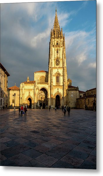 Cathedral Of Oviedo Metal Print
