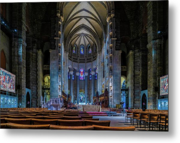 Metal Print featuring the photograph Cathedral Of Saint John The Divine by Chris Lord