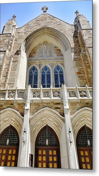 Cathedral Of St John Front Metal Print