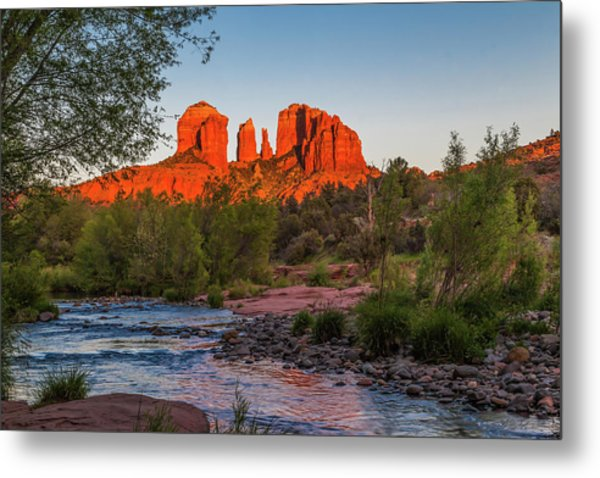 Cathedral Rock At Red Rock Crossing Metal Print