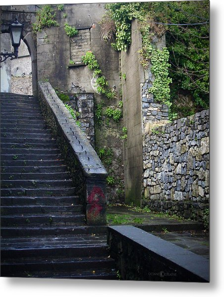 Cathedral Stairs Metal Print