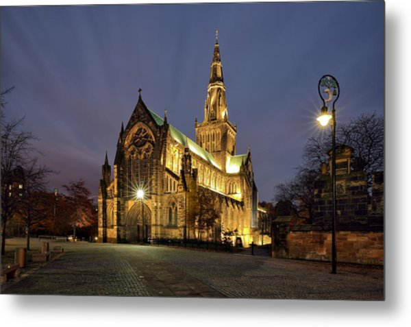 Cathedral Twilight Metal Print