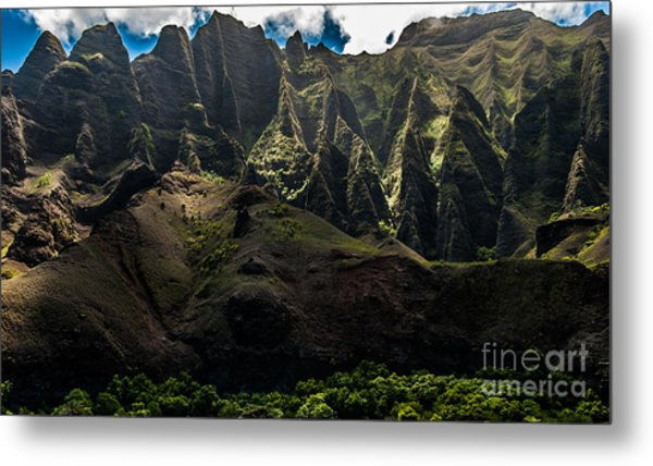 Cathedrals Na Pali Coast #2 Metal Print