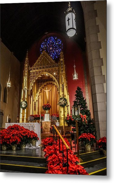 Catholic Christmas Metal Print