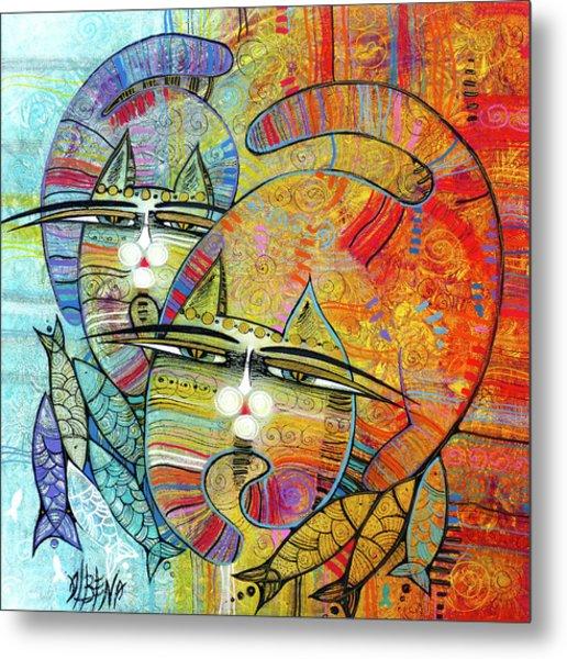 Cat's Paradise Metal Print
