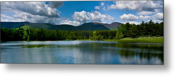 Catskill Mountain Panorama Metal Print