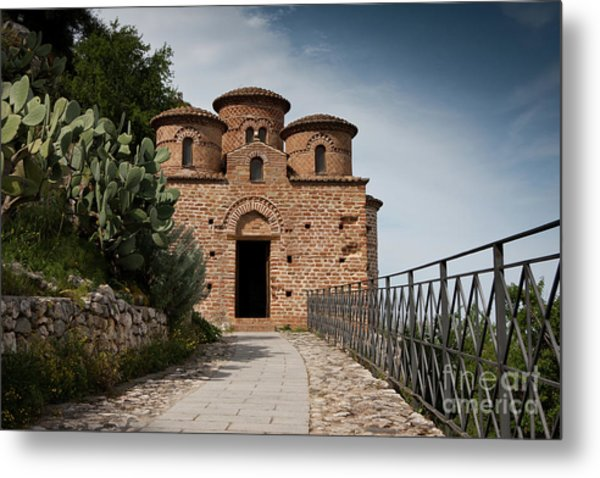 Cattolica Di Stilo, Metal Print
