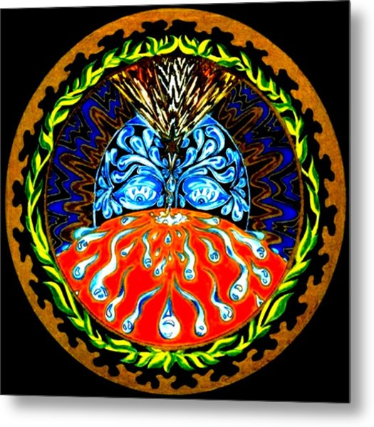 Cause And Effect Metal Print by Pam Ellis