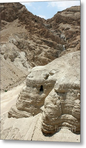 Caves Of The Dead Sea Scrolls Metal Print