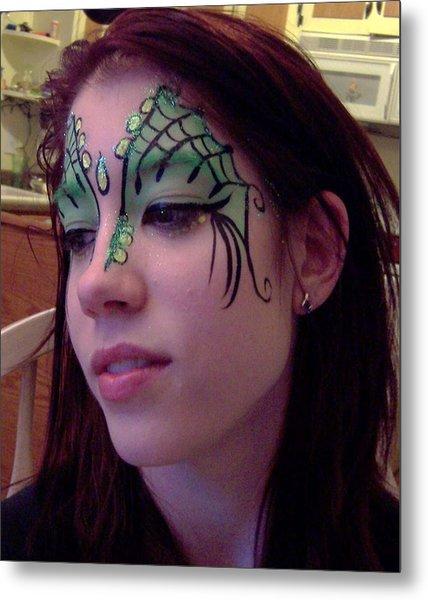 Cayce Dragon Princess Metal Print