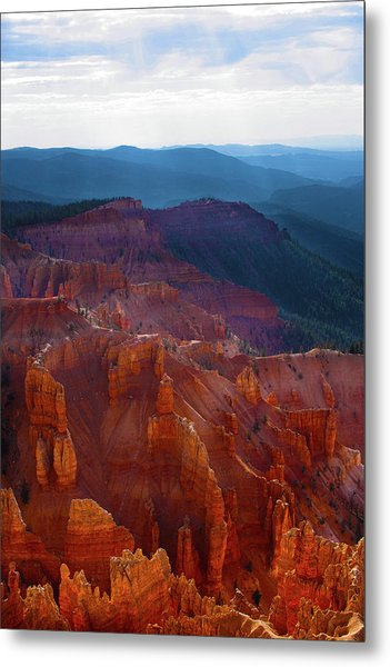 Cedar Breaks Brilliance Metal Print