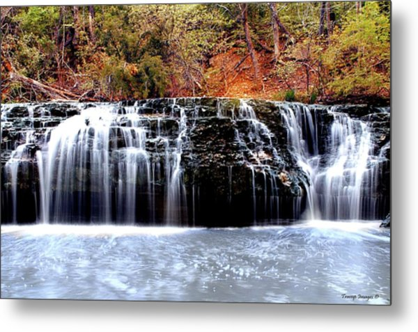 Cedar Creek Falls, Kansas Metal Print