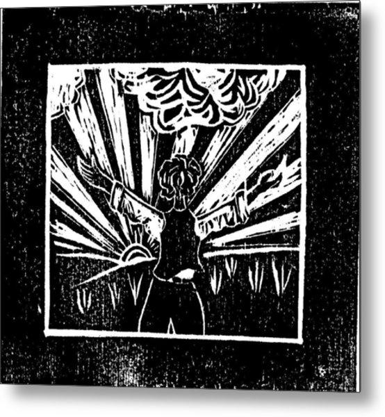 Celebrate Everyday Metal Print by Lars Lindgren