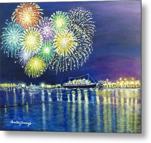 Celebrating In The Lbc Metal Print