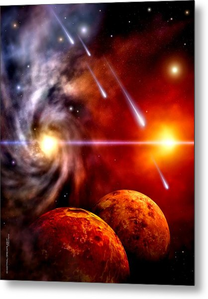 Celestial Metal Print by Dreamlight  Creations