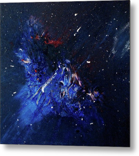 Metal Print featuring the painting Celestial Harmony by Michael Lucarelli