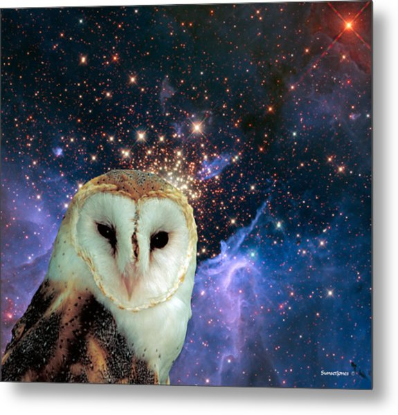 Celestial Nights Metal Print