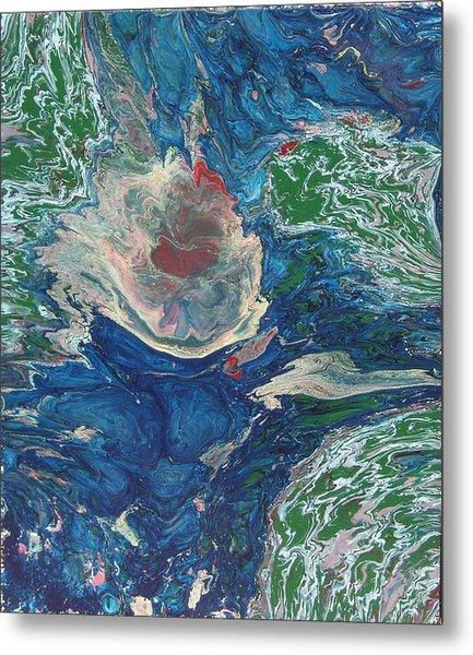 Celestial Rebirth Metal Print