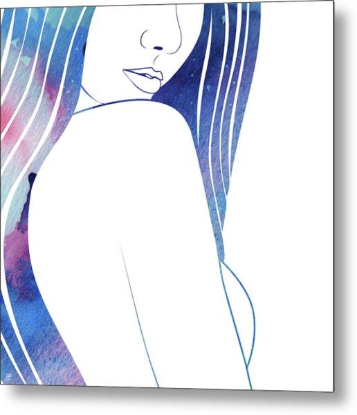 Celestial V Metal Print
