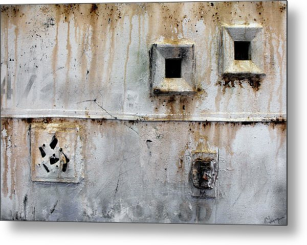 Cell Window Metal Print by Ralph Levesque