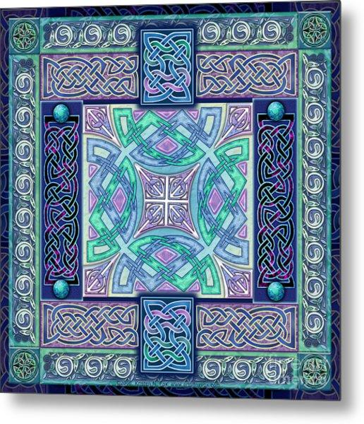 Celtic Atlantis Opal Metal Print