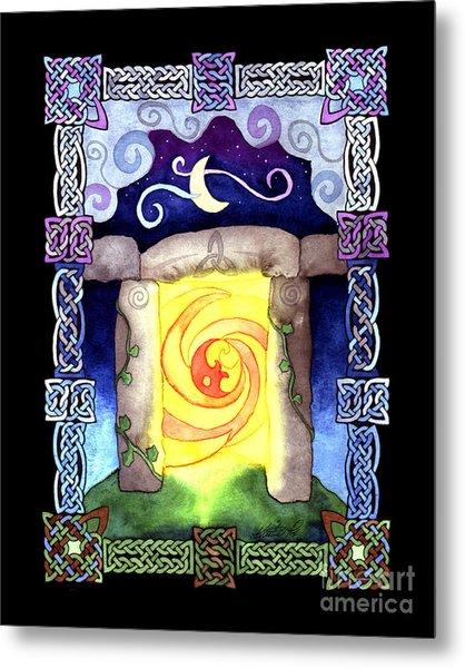 Celtic Doorway Metal Print