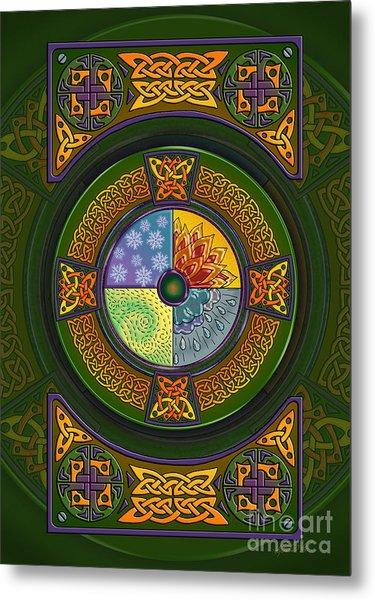 Celtic Elements Metal Print