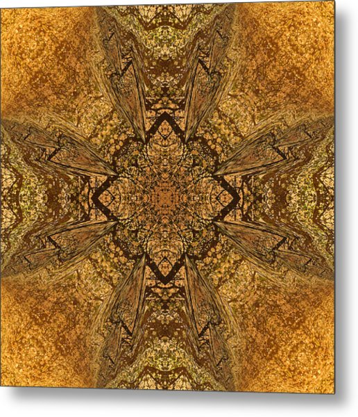 Celtic Mandala Abstract Metal Print