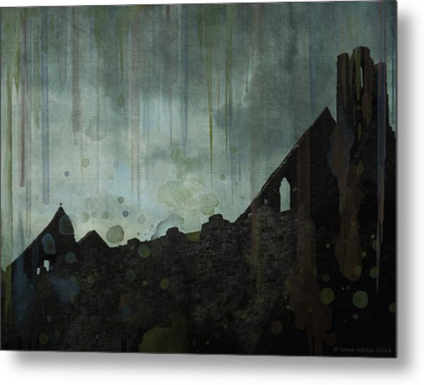 Celtic Ruins Metal Print
