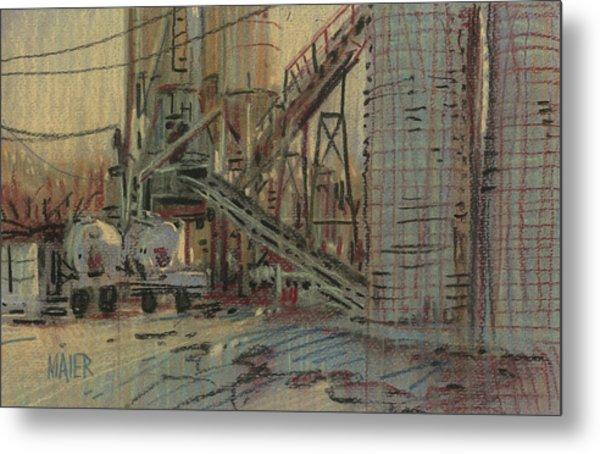 Cement Company Metal Print