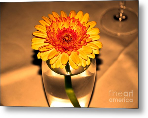 Centerpiece Metal Print by Wendy Mogul