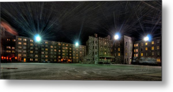 Central Area At Night Metal Print
