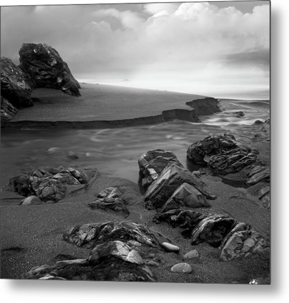 Central Oregon Coast Metal Print by Leland D Howard