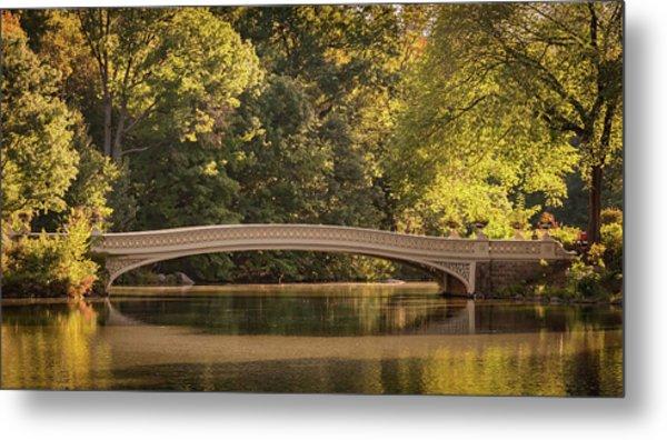 Central Park Bridge Metal Print