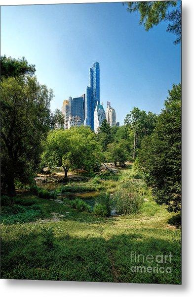 Central Park Ny Metal Print