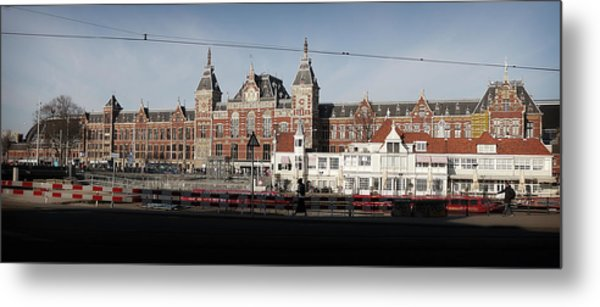 Metal Print featuring the photograph Central Train Station by Scott Hovind