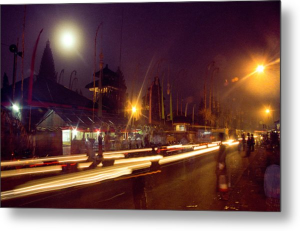 Metal Print featuring the photograph Ceremonious Crossings by T Brian Jones