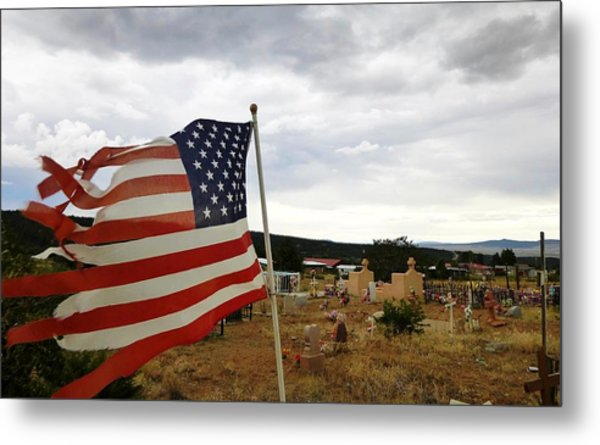 Cerro, New Mexico Metal Print