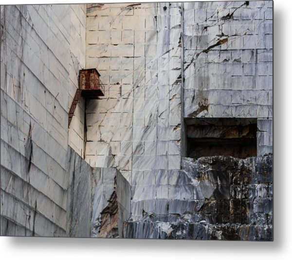 Cervaiole Quarry - Apuan Alps, Tuscany Italy Metal Print