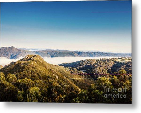 Cethana Range Tasmania Metal Print