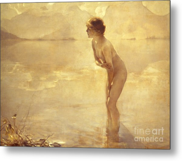 Chabas, September Morn Metal Print