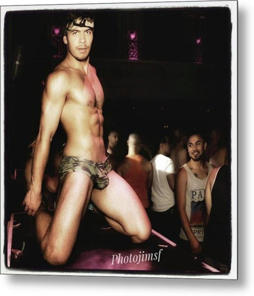 Metal Print featuring the photograph Chad Stewart. At A Gogo Boy Appearance by Mr Photojimsf