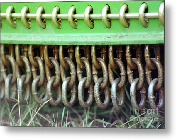 Chain Guard Metal Print by Linda Drown