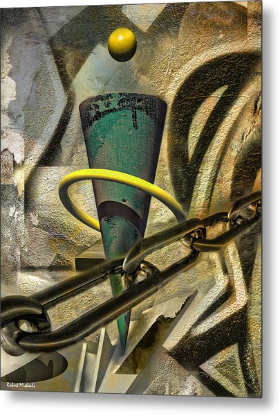 Chained Visions Metal Print by Robert Michaels