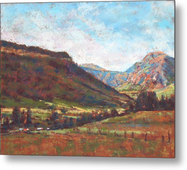 Chama Valley Light Metal Print by James Roybal