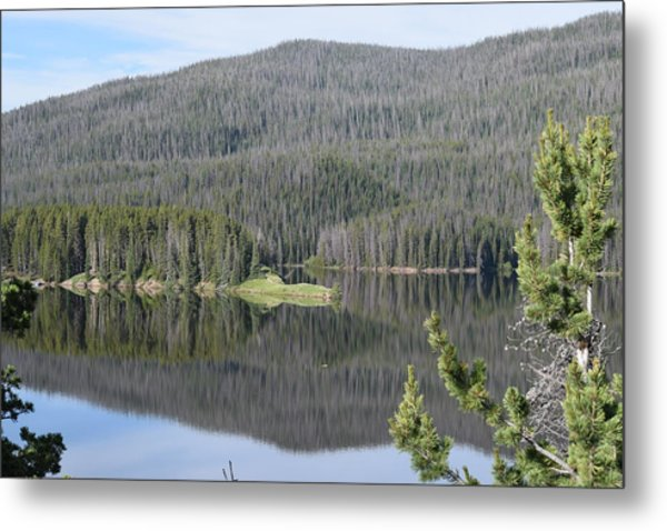 Chambers Lake Hwy 14 Co Metal Print