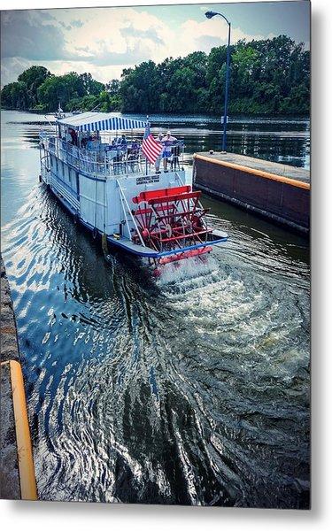 Champlain Canal Patriot Metal Print