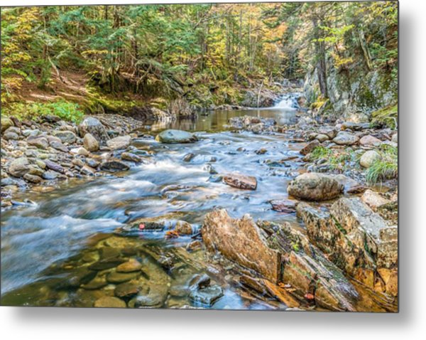 Chandler Mill Stream Metal Print