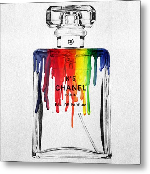 Chanel  Metal Print